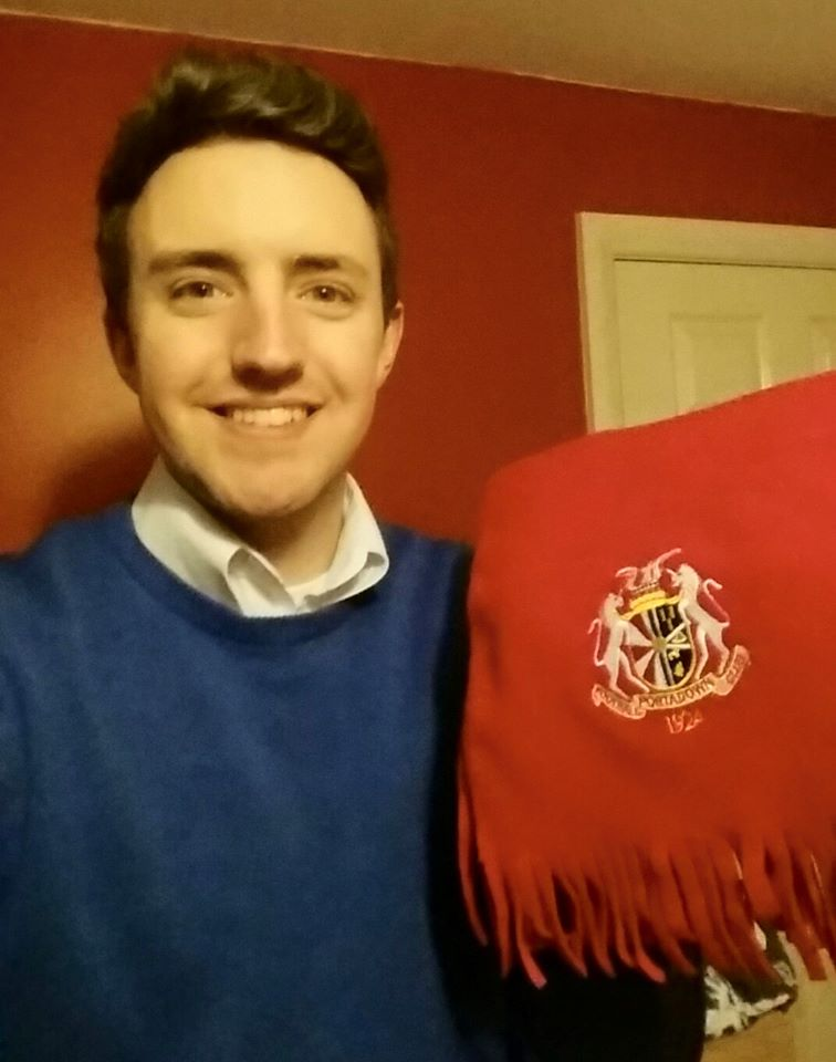 Present from Portadown FC
